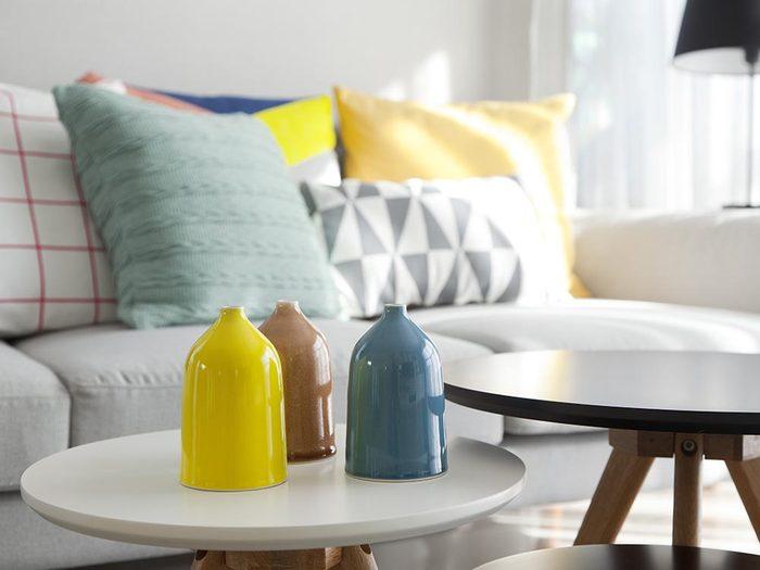Entretien ménager: embellissez les surfaces planes.
