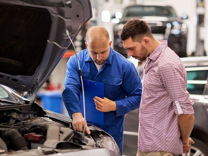 Réparation de voitures: conseils lors de votre prochain passage au garage.