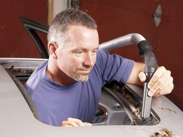 Reparer Toit Ouvrant Voirure Auto Nettoyer Aspirateur