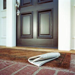 La porte d'entrée