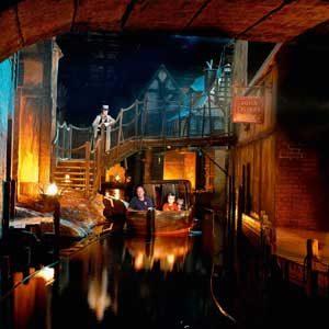 3. Dickens World, Angleterre