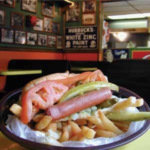 5. Hot-dogs à la mode de Chicago
