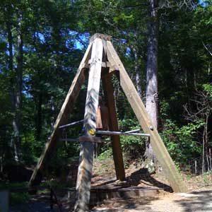 4. Site historique de la Reed Gold Mine
