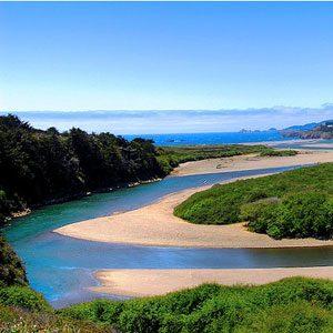 2. Pêche dans la rivière Gualala