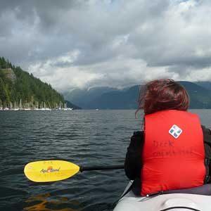 6. Kayak sur les lacs