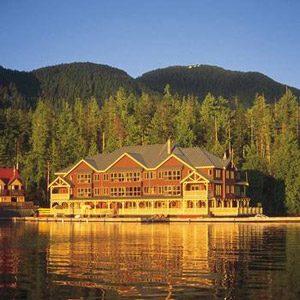 1. Le King Pacific Lodge, Princess Royal Island, Colombie-Britannique