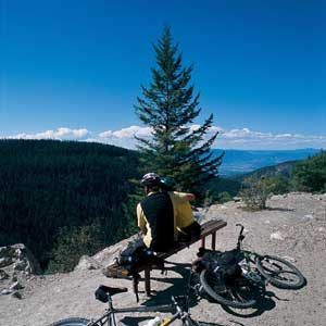 3. Vélo sur le Kettle Valley Rail Trail