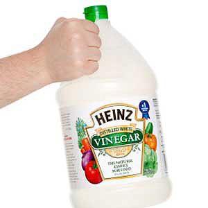 2. Pulvérisez du vinaigre contre les odeurs