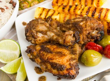 Poulet grillé à la jamaïcaine
