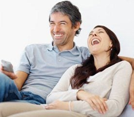 1. Éliminez les calories par le rire. (Ou effrayez-les.)