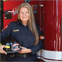Kellyann Meloche Service des incendies de Kahnawake (Québec)