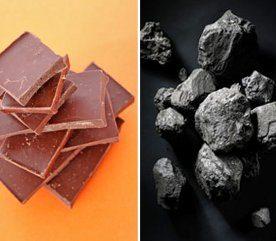 Le chocolat noir vous fait penser à du charbon?