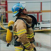 Gary Brandel Service des incendies de Kelowna (Colombie-Britannique)