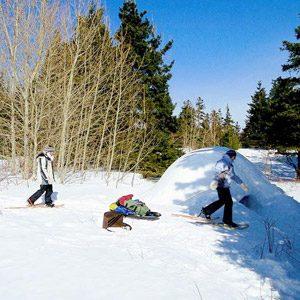 4. Dormez dans un igloo en plein hiver au Québec