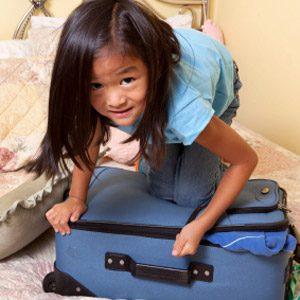 5. Laissez les ados et pré-ados faire leurs bagages