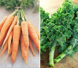 Avez-vous plaisir à manger des carottes et du chou?