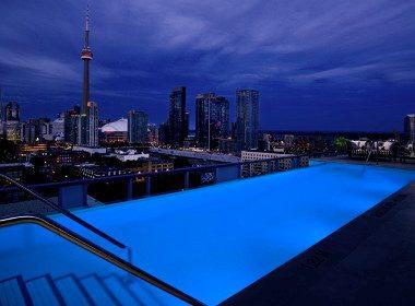 Rooftop Lounge de l'hôtel Thompson - Toronto, Ontario