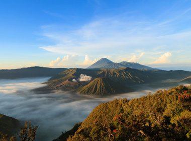 5. Le parc national de Bromo-Tengger-Semeru, Indonésie