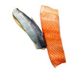 Aliments qui guérissent: saumon et hareng