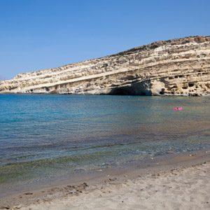 6. Du kayak de mer d'auberge en auberge, Crète, Grèce