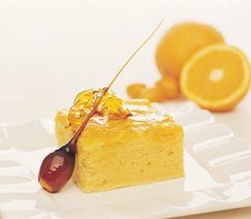 8. Gâteau renversé à la polenta et à l'orange