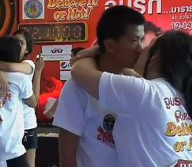 7. Le baiser le plus long?
