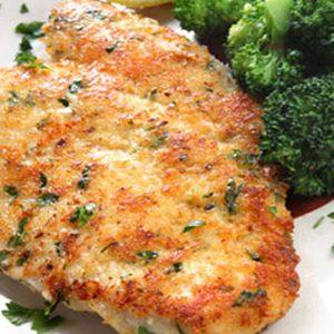 Mettez des craquelins au fromage sur votre poulet!