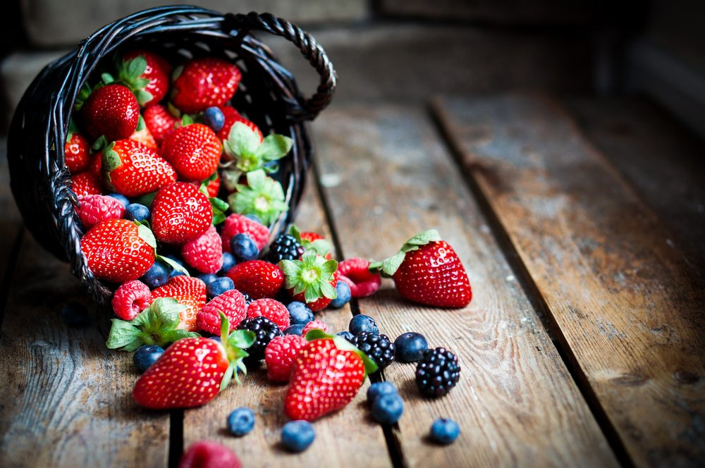 Premier conseil pour maigrir et perdre du poids plus rapidement: Devez-vous opter pour des fraises, framboises ou bleuets?