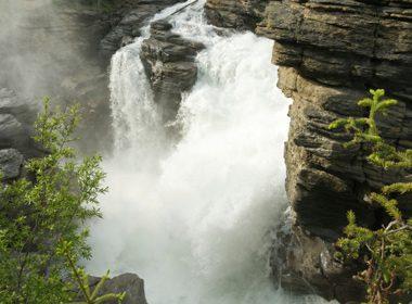 Chutes d'Athabasca - Parc National de Jasper, Alberta