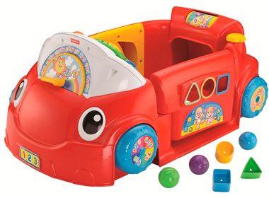 10. La voiture de jeux rires et éveil de Fisher-Price  64,99$