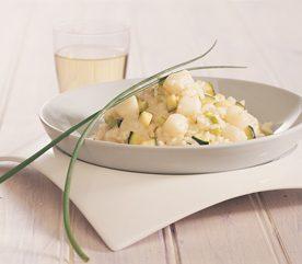 2. Risotto aux pétoncles et aux légumes