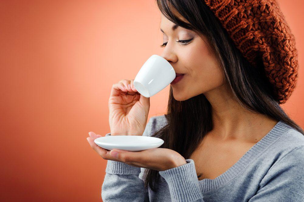 10. Savourez l'arôme d'un bon café.