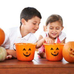 10. Prenez en charge les bonbons après l'Halloween.