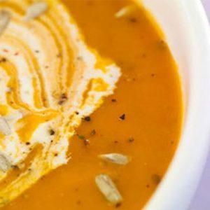 Ajoutez une vinaigrette à la soupe!