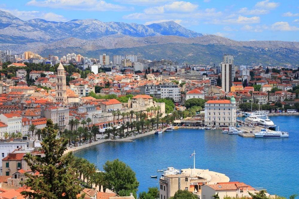 Une ville méconnue et magnifique en Europe: Split, Croatie