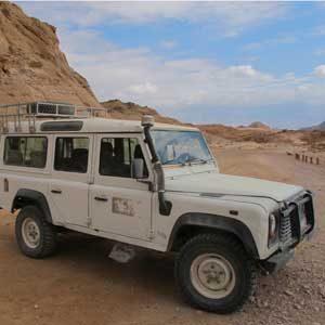 10. Parcourez le Parc national de Timna en Jeep