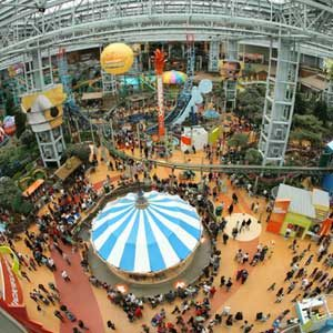 1. Le Mall of America, Bloomington, Minnesota, É.-U.