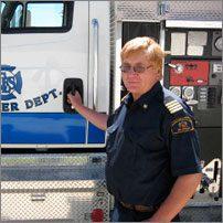 Doral Lybbert Service des incendies de Mid River (Alberta)