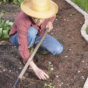 9. La toile géotextile est généralement une perte de temps et d'argent à long terme; les mauvaises herbes finissent par pousser par-dessus.