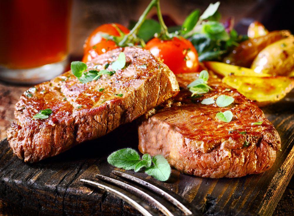 15. Bifteck de surlonge ou faux-filet?