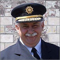 Lloyd MacIntosh, chef des pompiers Service des pompiers volontaires de North Sydney (Nouvelle-Écosse)