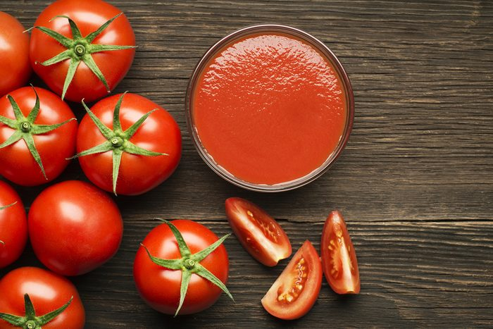 Sauce Tomate.