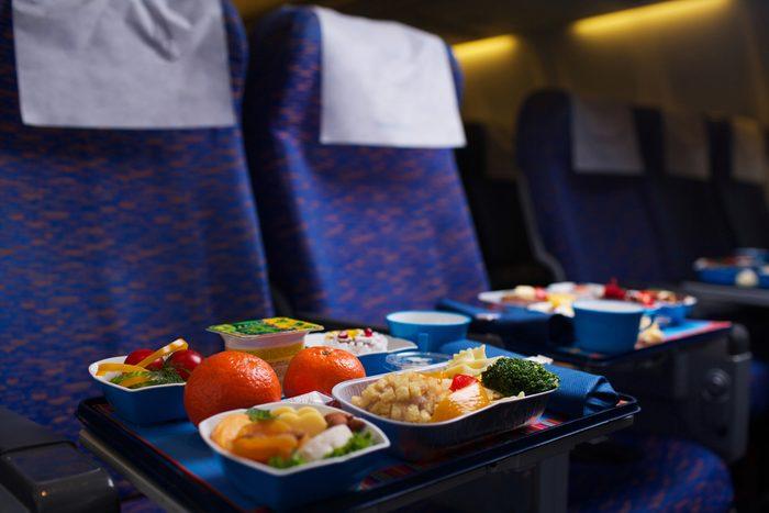20. Restauration aérienne ou nourriture apportée?