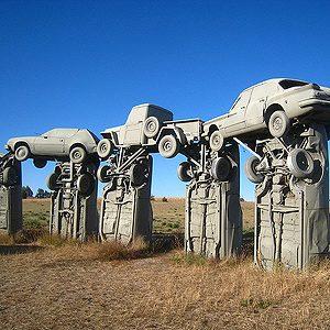 Carhenge, Nebraska, aux États-Unis