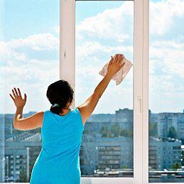 1. Sécher et faire briller les vitres