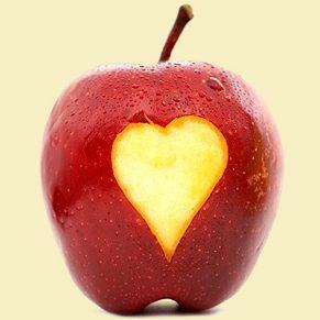 Pommes sculptées: à croquer des yeux!