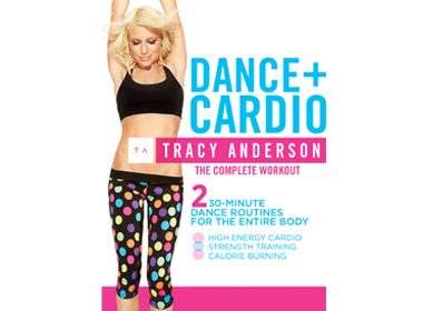 4. Tracy Anderson: DVD Dance+Cardio