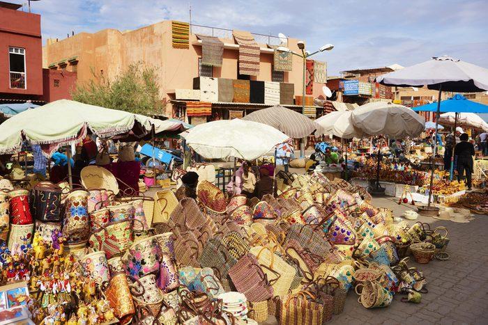 2. Marché de Marrakech, Maroc