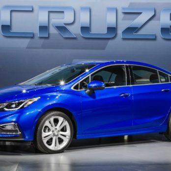 Tout sur la Chevrolet Cruze 2016