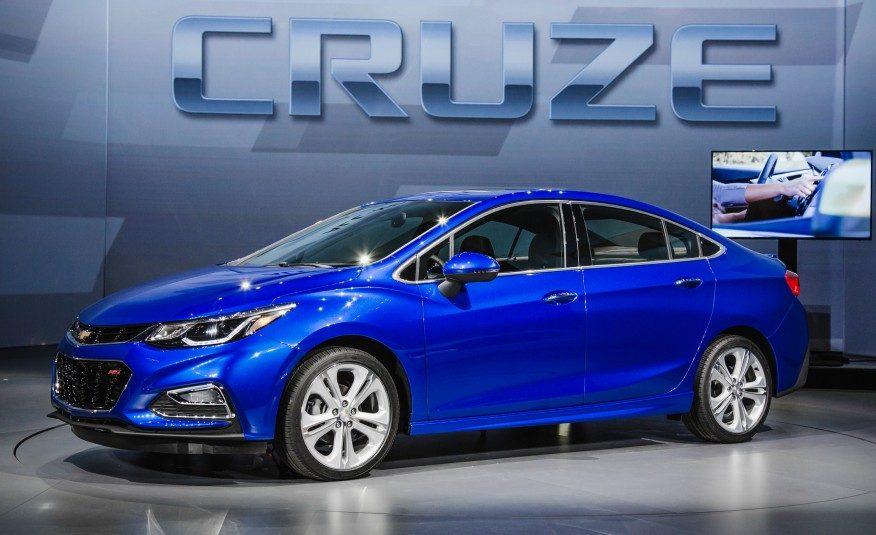 Coup d'œil sur la toute nouvelle Chevrolet Cruze 2016